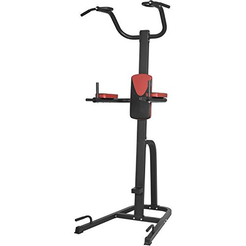 Gorilla Sports Multifunktions-Klimmzugstation Power Tower Red